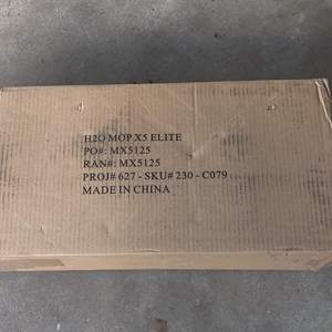 Lot # 344 H2O mop in the box new