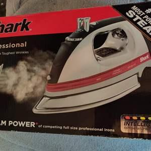 Lot # 383 brand new shark iron steam power