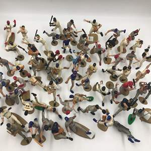 Auction Thumbnail for: Lot # 168 Kenner Starting Lineup Baseball (Lot of 64 Figures)