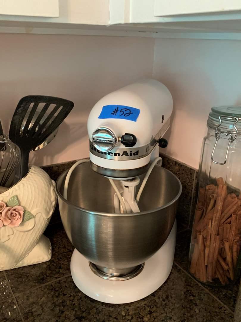Lot # 52 Kitchen Aid Mixer Large Bowl