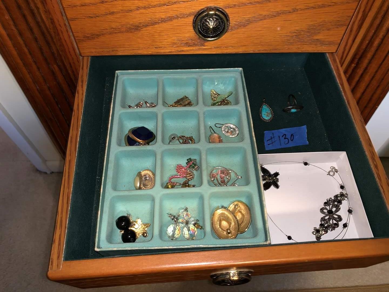 Lot # 130 Assortment of costume jewelry
