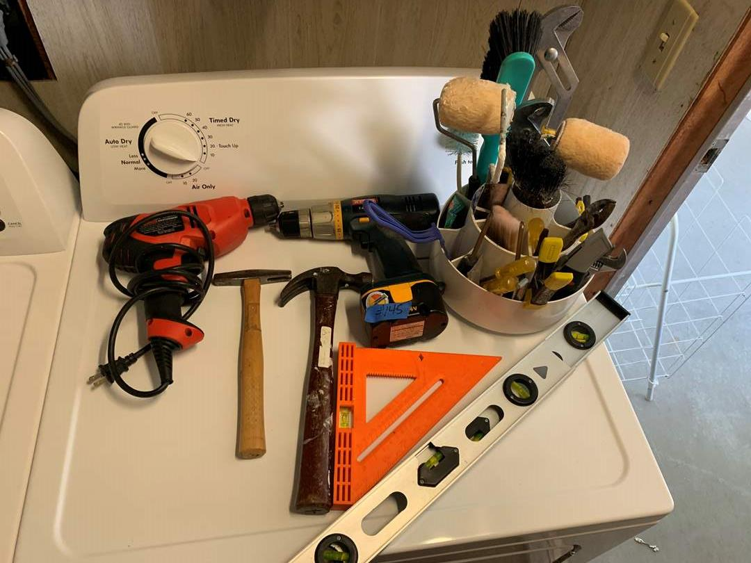 Lot # 145 Various corded and cordless drills and handtools