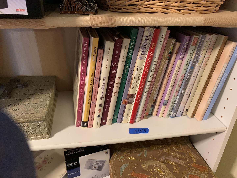 Lot # 153 Shelf of books, so concrete book box