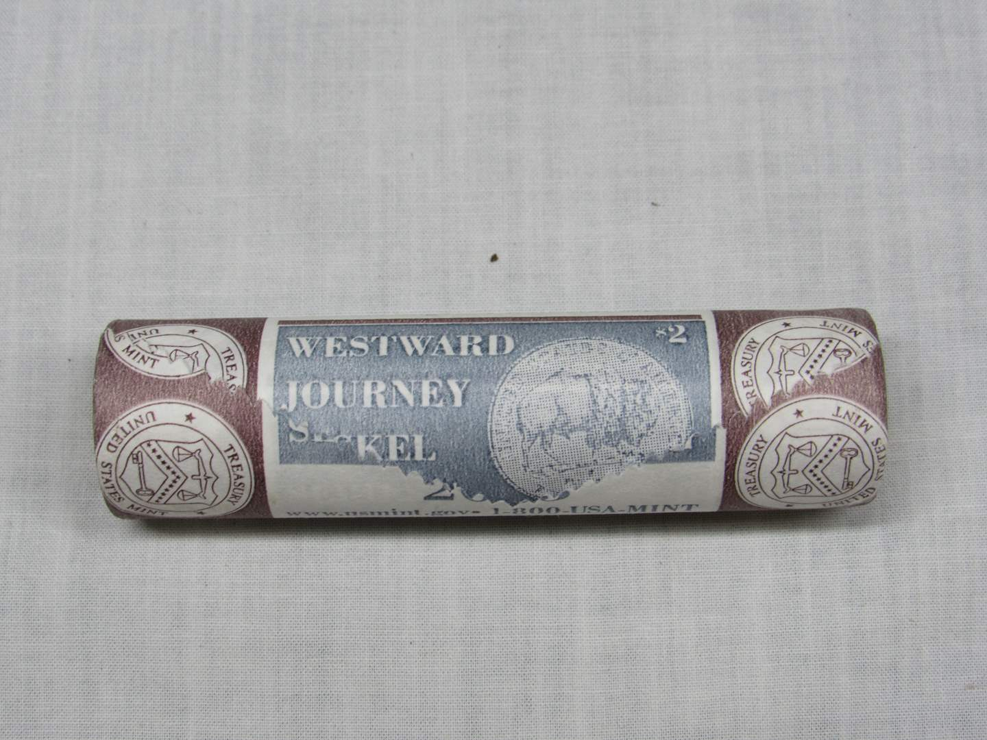 Lot # 145  2005-P Shotgun roll Westward Journey Nickles (main image)