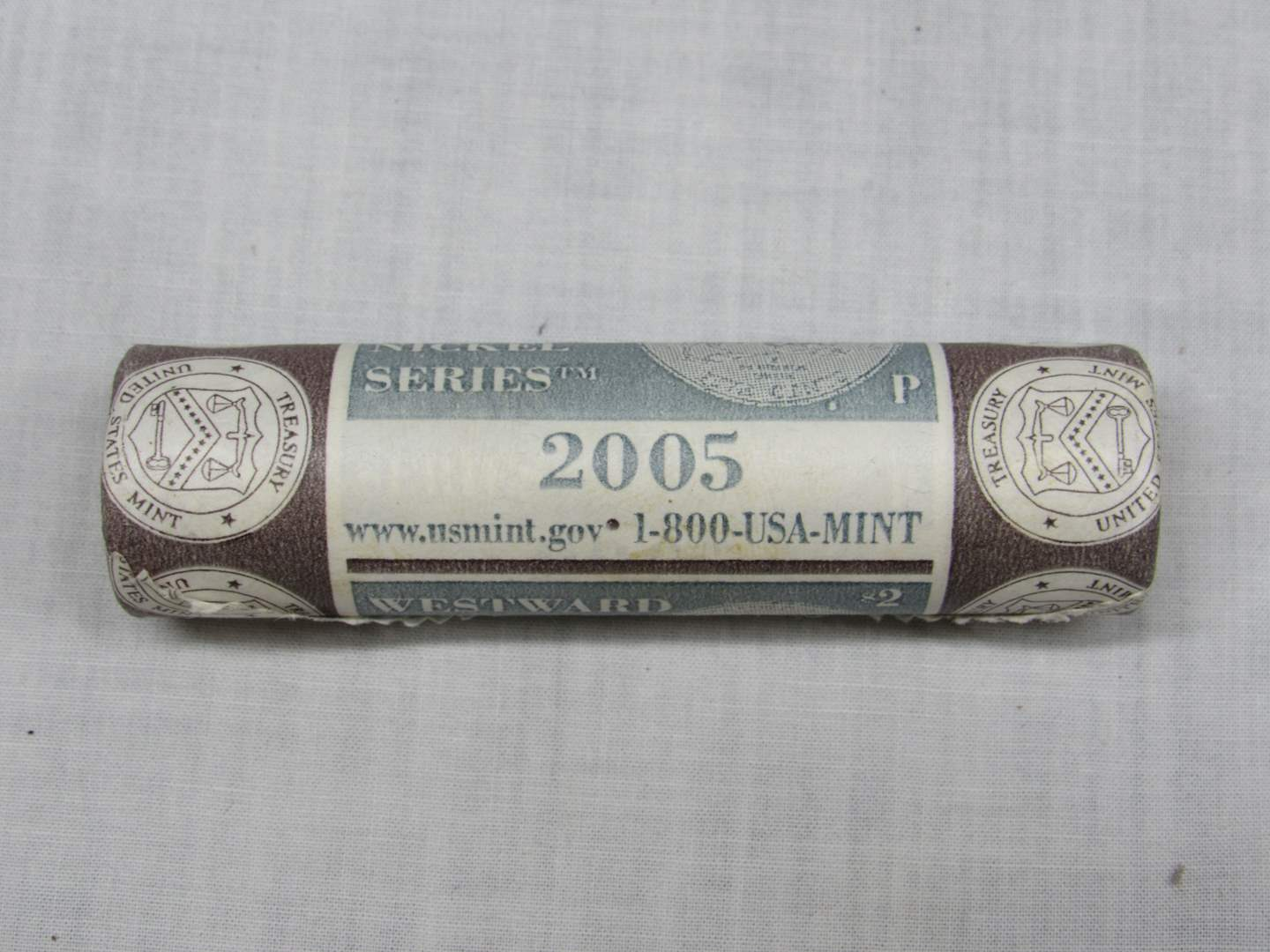 Lot # 148  2005-P Shotgun roll Westward Journey Nickles (main image)