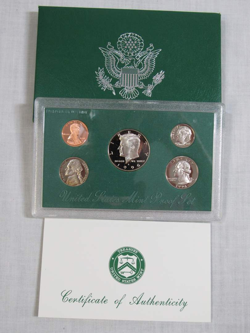 Lot # 163  1996 UNITED STATES MINT PROOF Set (main image)