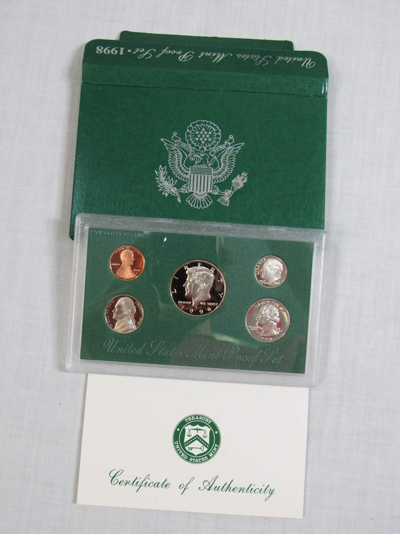 Lot # 164 1998 UNITED STATES MINT PROOF Set (main image)