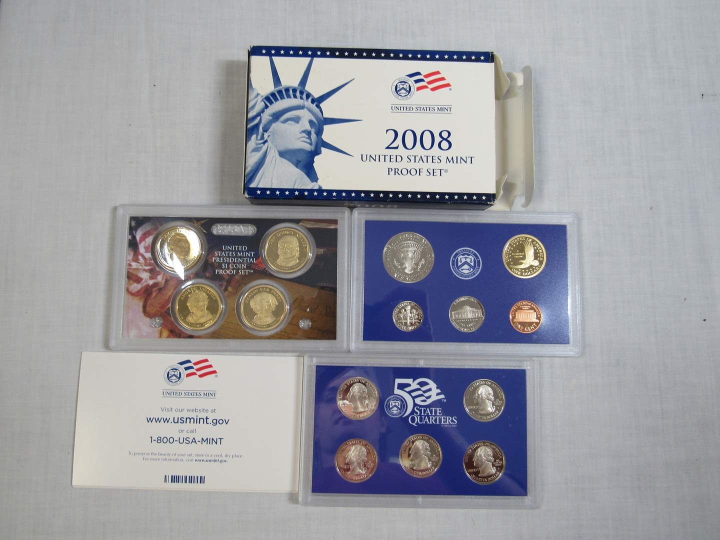 Lot # 170  United States 2008 PROOF SET (EVERYTHING IN PICTURES) (main image)