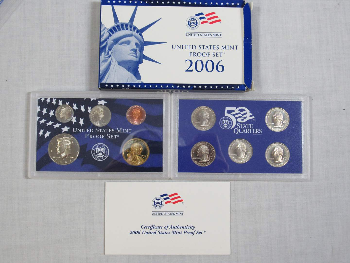 Lot # 171  United States 2006 PROOF SET (EVERYTHING IN PICTURES) (main image)