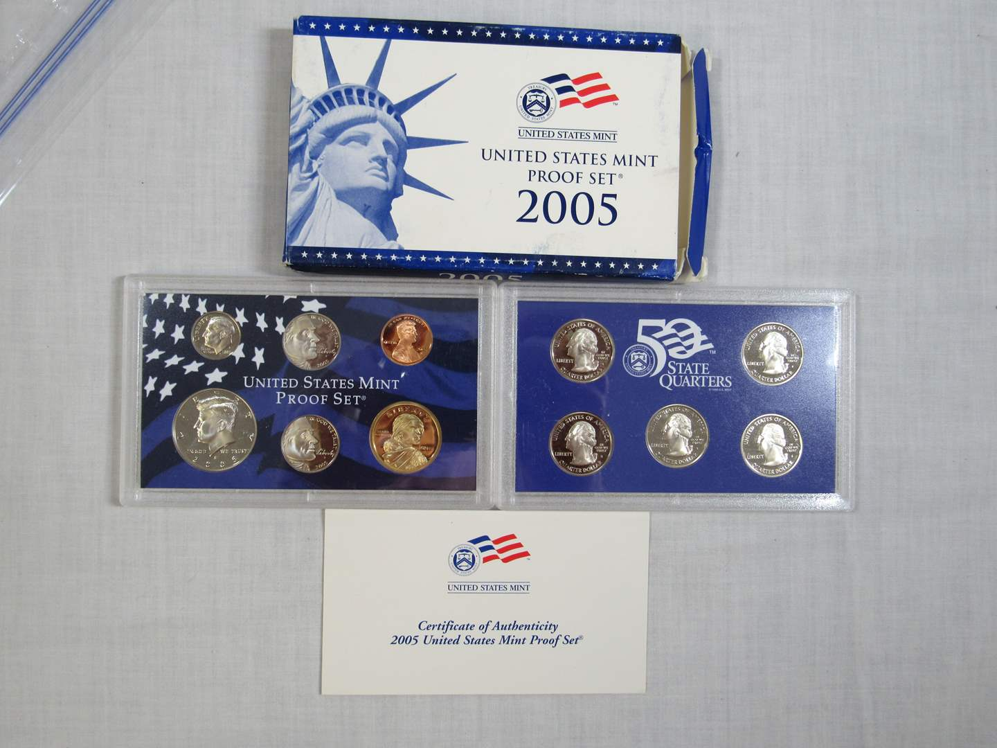 Lot # 172  United States 2005 PROOF SET (EVERYTHING IN PICTURES) (main image)