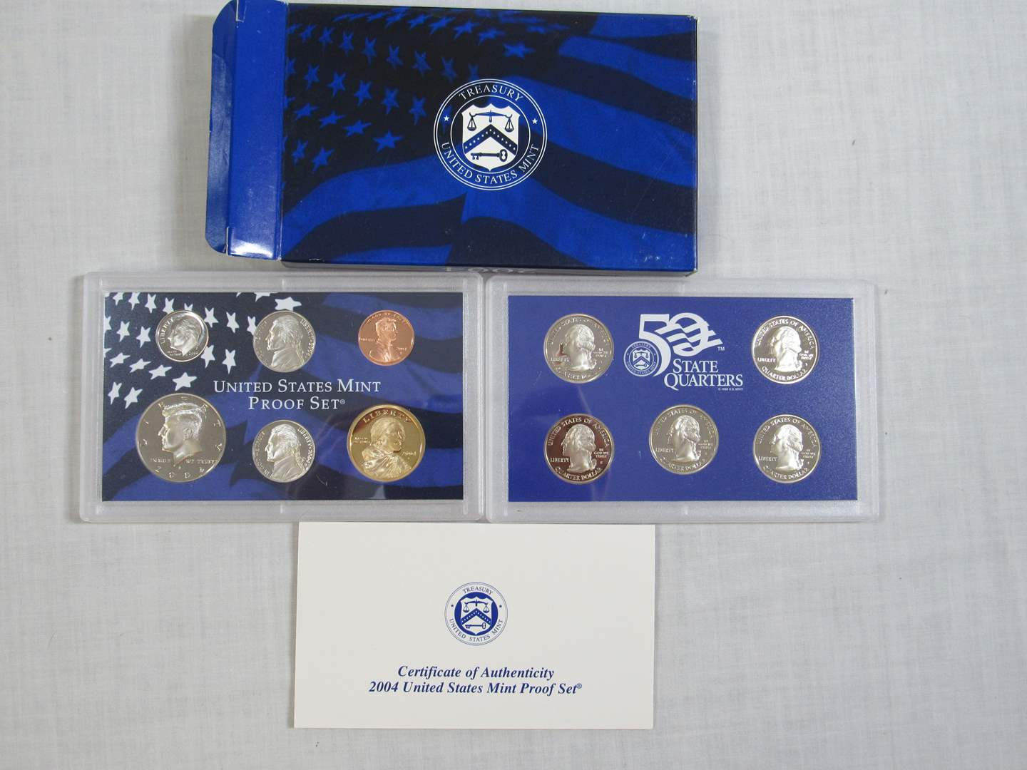 Lot # 173  United States 2004 PROOF SET (EVERYTHING IN PICTURES) (main image)