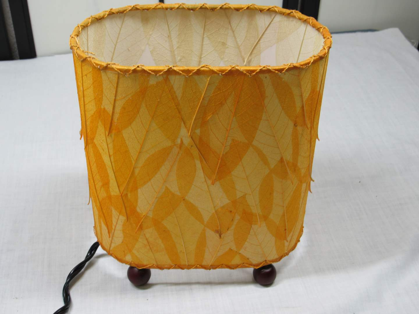 Lot # 5  Mid Century Modern (style) table lamp (perfect condition) (main image)