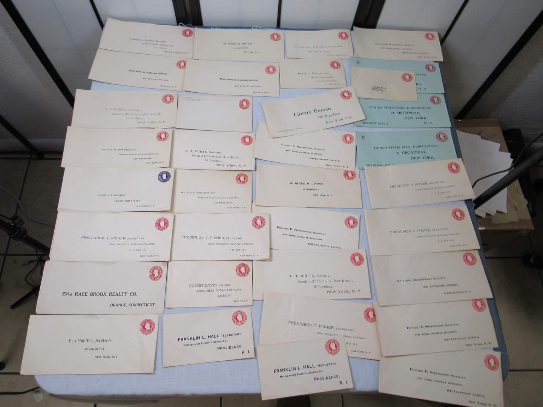 Lot # 95  Great lot of VINTAGE US postage envelopes 2 & 3 Cent (main image)