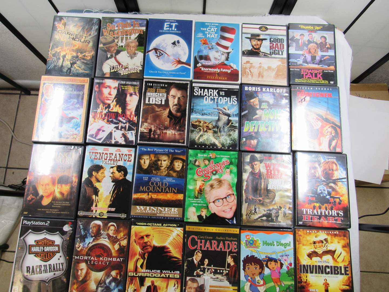 Lot # 213   Large lot of DVD's  (main image)