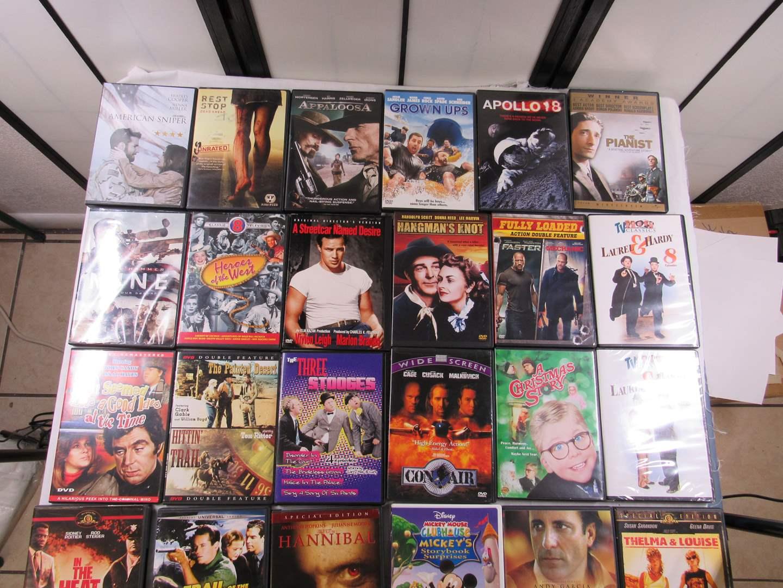 Lot # 214   Large lot of DVD's  (main image)