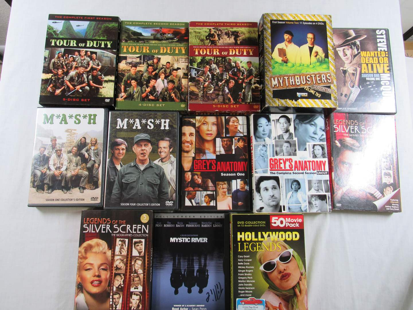 Lot # 218  Large collection of SEASONS DVD's (main image)
