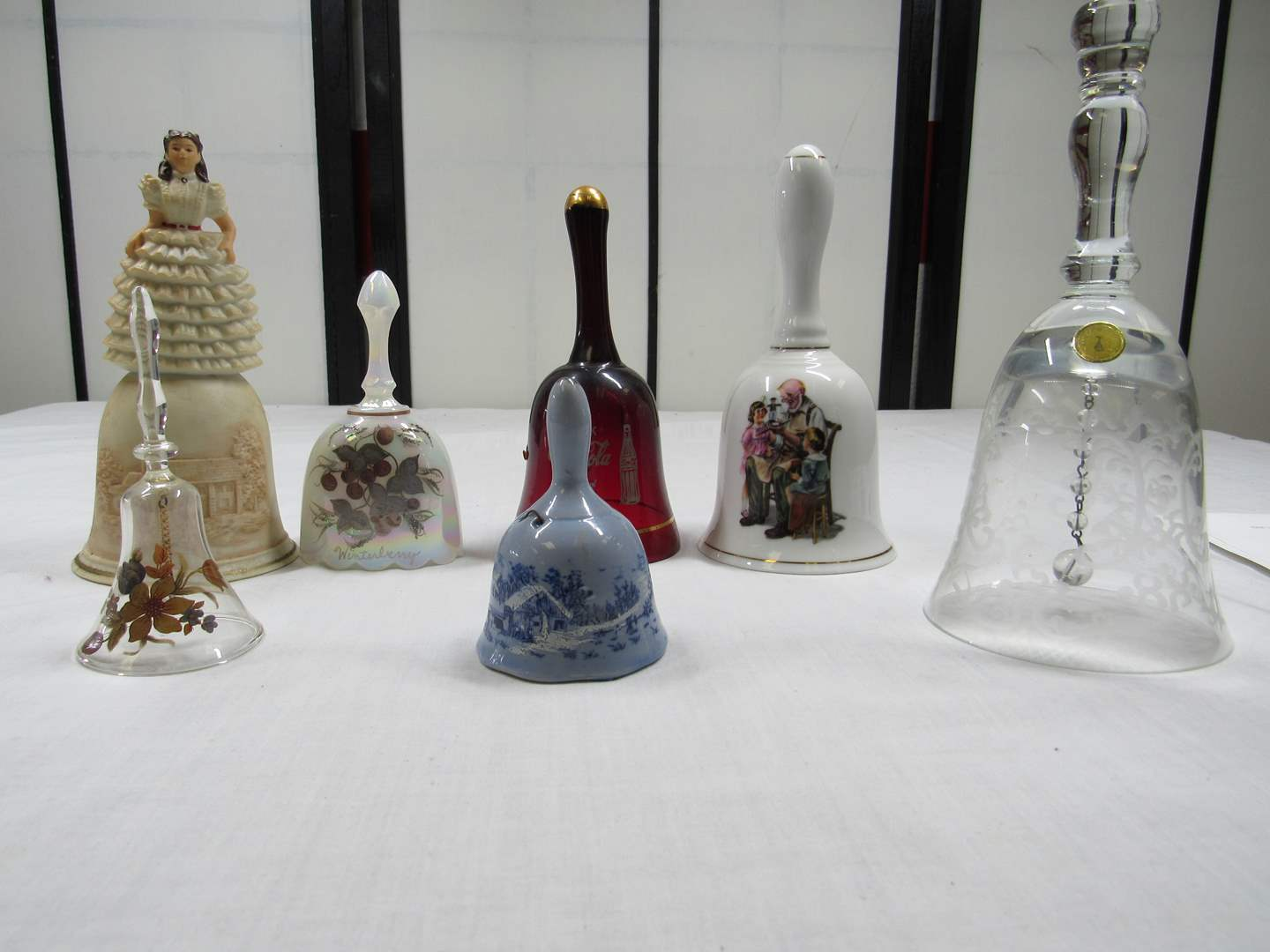 Lot # 234  Nice collection of bells (main image)