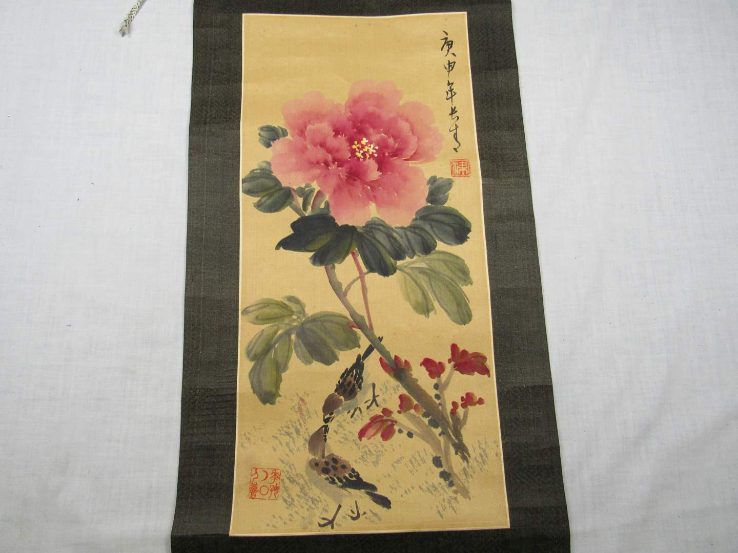 Lot # 248  Oriental Scroll Hand made and signed (main image)