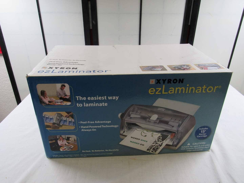 Lot # 259  Like new laminator (main image)