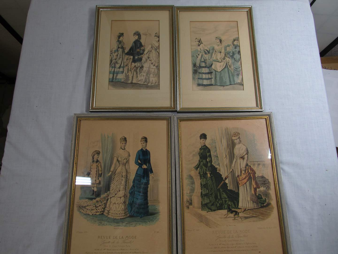 Lot # 275  Grouping of great antique framed prints (main image)