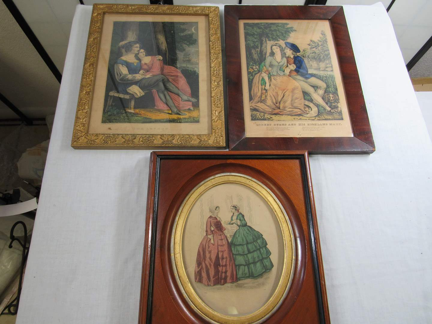 Lot # 276  Grouping of great antique framed prints (main image)