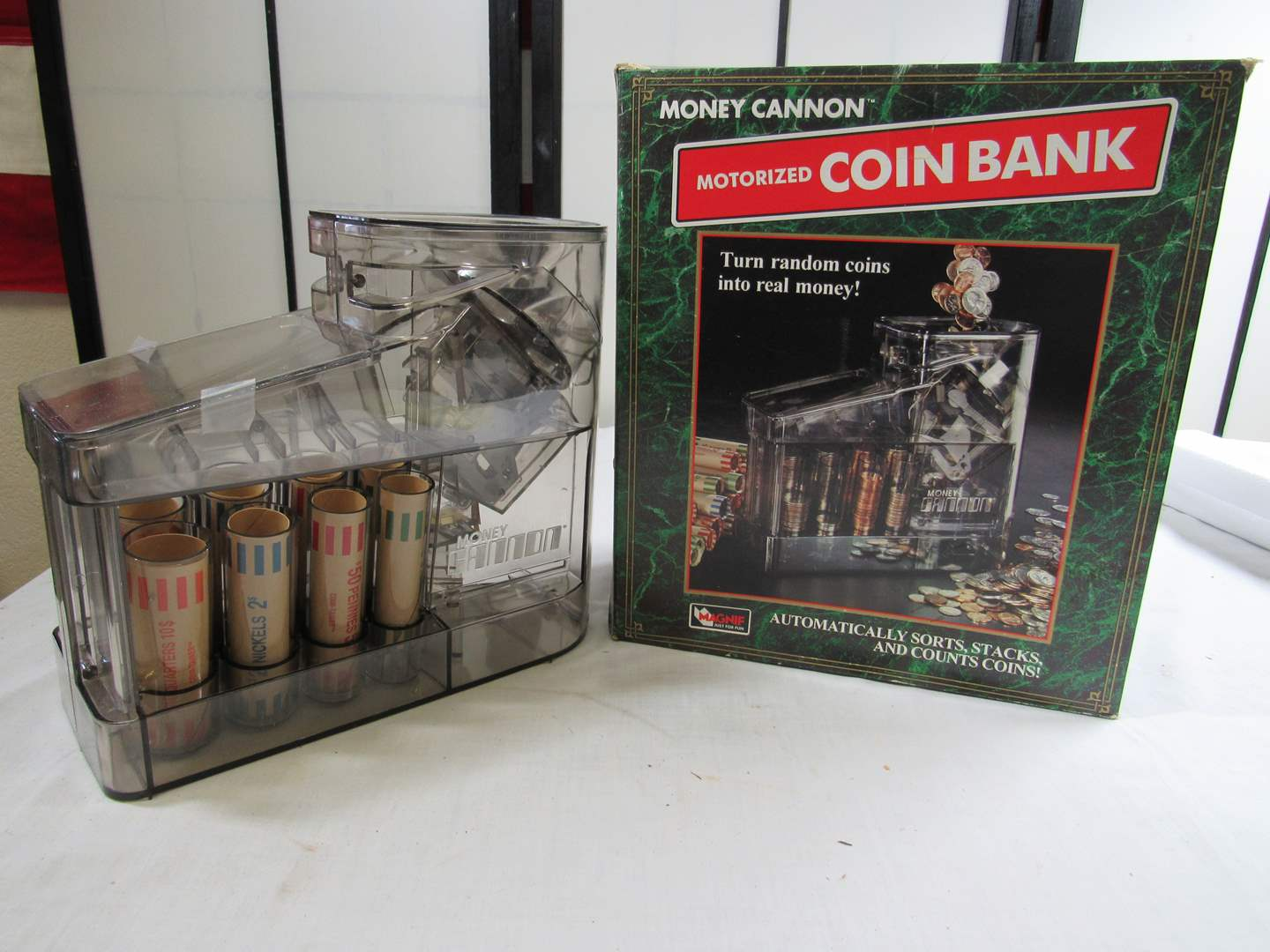 Lot # 292  New never used coin sorter (main image)