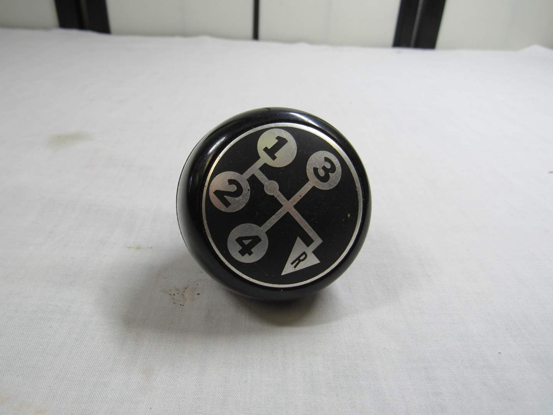 Lot # 299  Vintage stick shift 4 speed ball (original)  (main image)