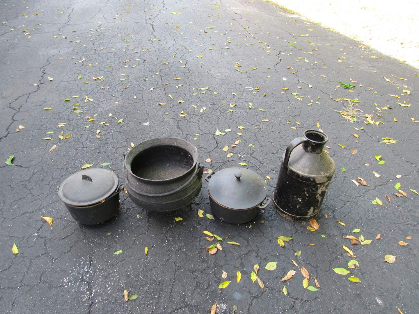 Lot # 72  Grouping of cast iron (everything in the pictures) (main image)