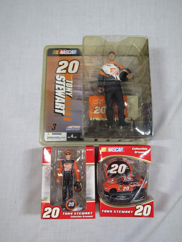 Lot # 86  Nice lot of Tony Stewart #20 collectibles (main image)