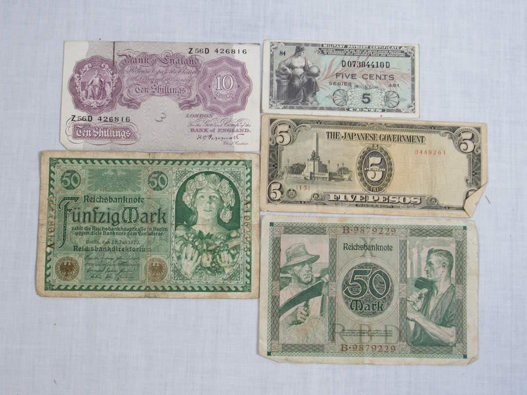Lot # 177  Nice lot of Foreign notes (main image)