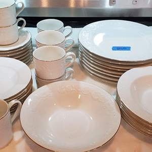 Auction Thumbnail for: Lot # 260 8 Person Setting Dining Ware - See Description