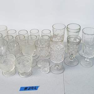 Auction Thumbnail for: Lot # 294 Lot of Glasses