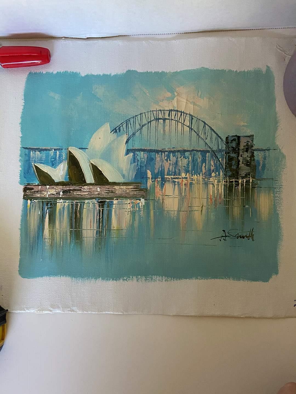 Lot # 6 Beautiful Painting Signed (Sydney, Australia)