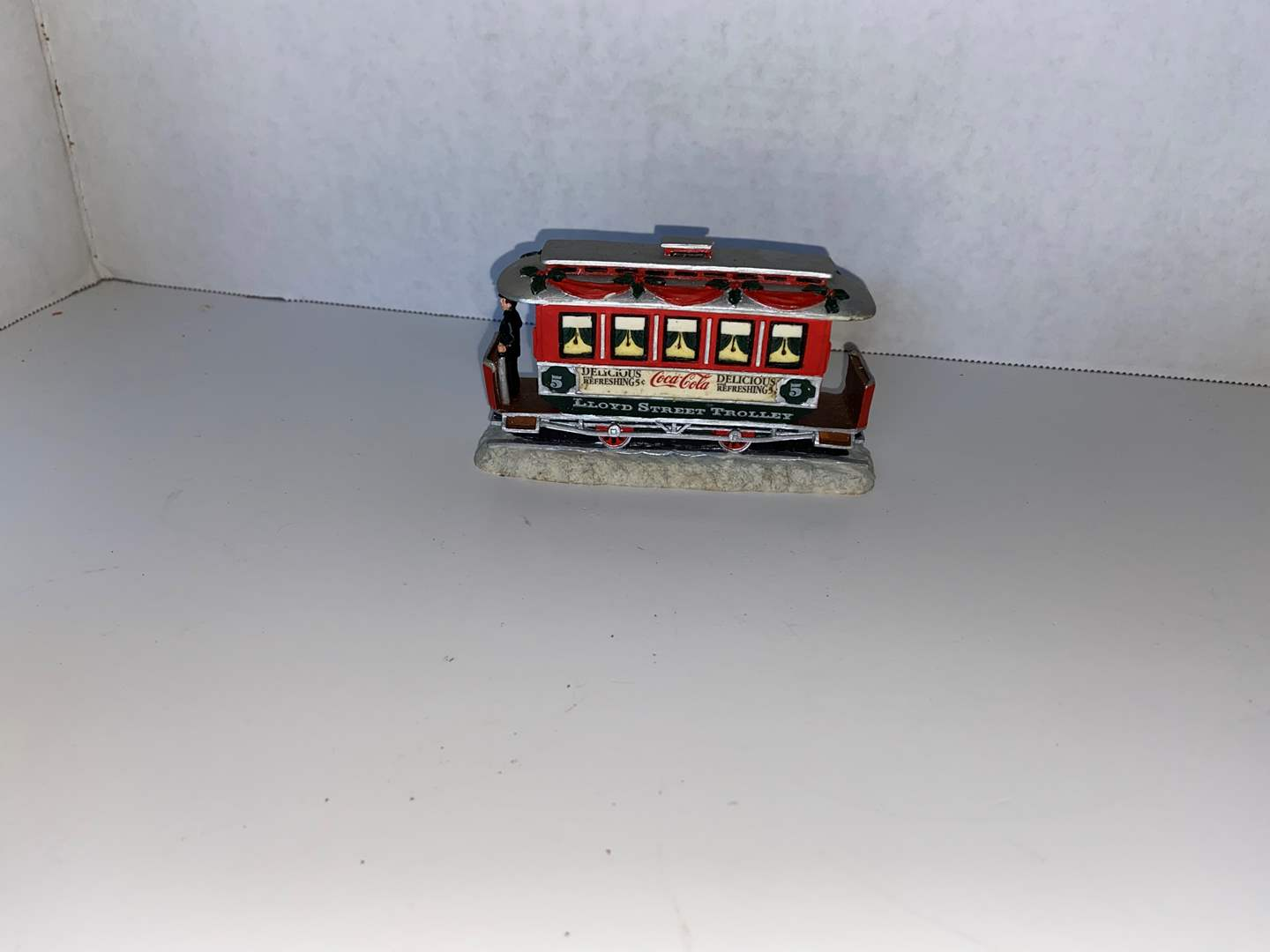 Lot # 15 Coca Cola Town Square Collection, Lloyd Street Trolley