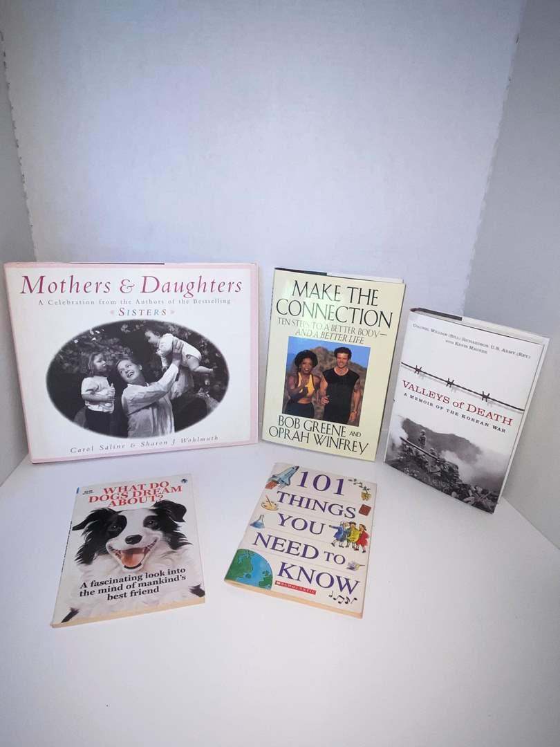Lot # 18 (5) Books