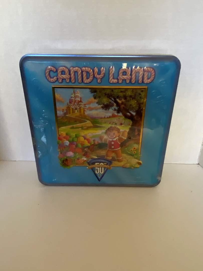 Lot # 27 1998 Candy Land 50th Anniversary Limited Edition Tin Box Board Game - NIB still in plastic