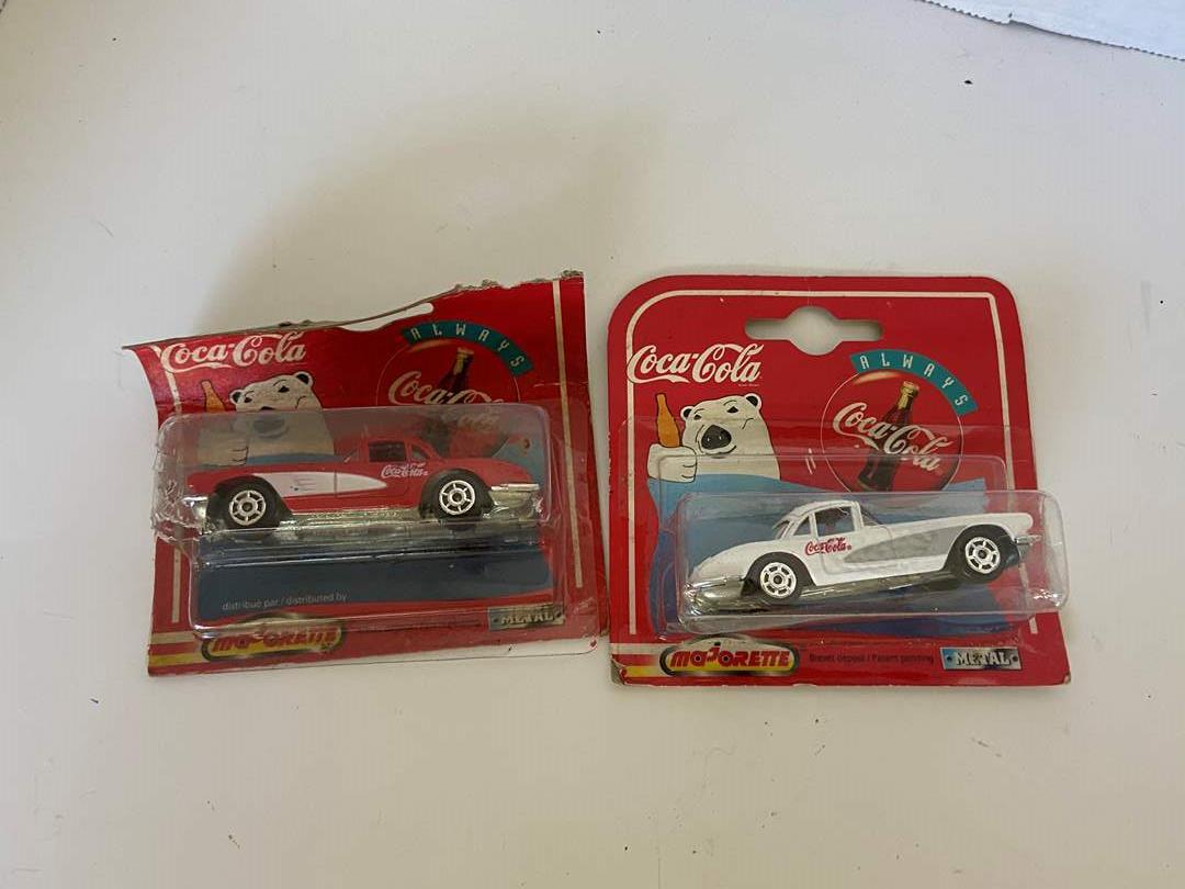 Lot # 33 Coca Cola 1/64 Corvette 1995 & 1999 200 Series