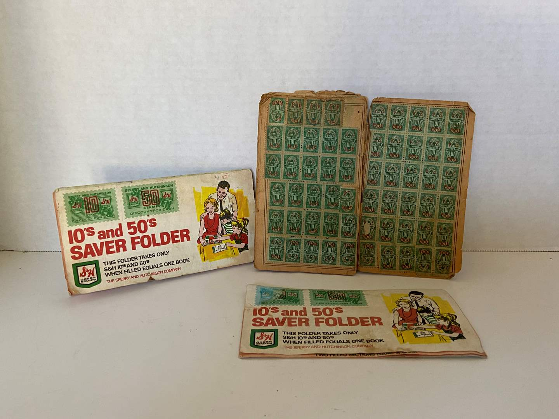 Lot # 34 VTG 60's S&H Green Stamps