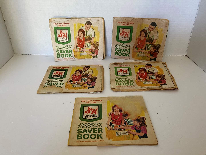 Lot # 36 VTG 60's S&H Green Stamps & Books