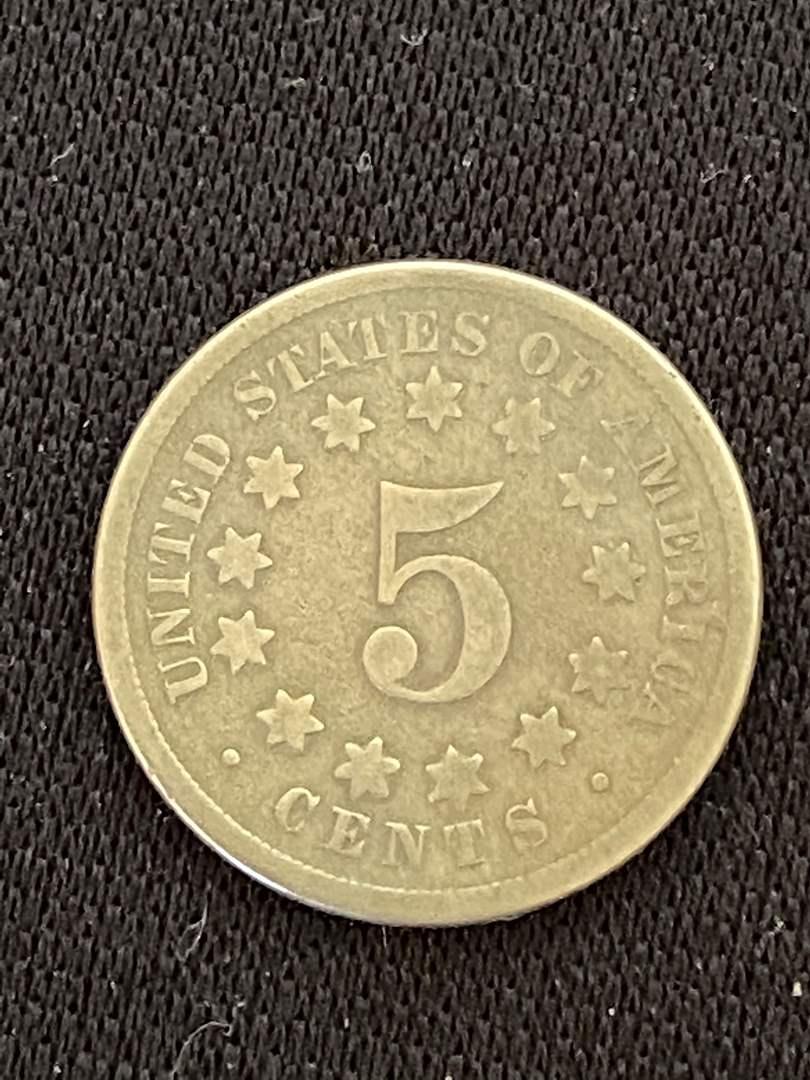 Lot # 42 1869 Shield Nickel