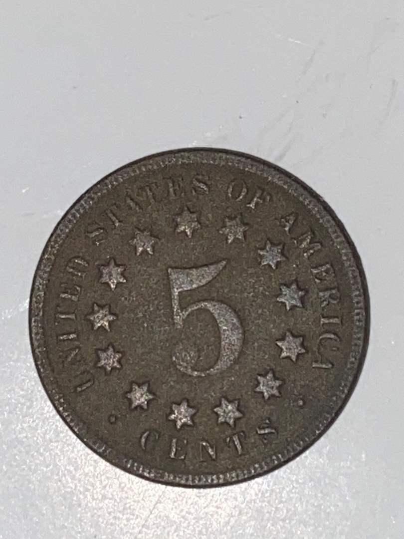Lot # 44 1869 Shield Nickel
