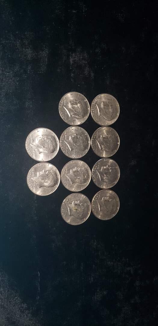 Lot # 55 (10) Commemorative Half Dollars