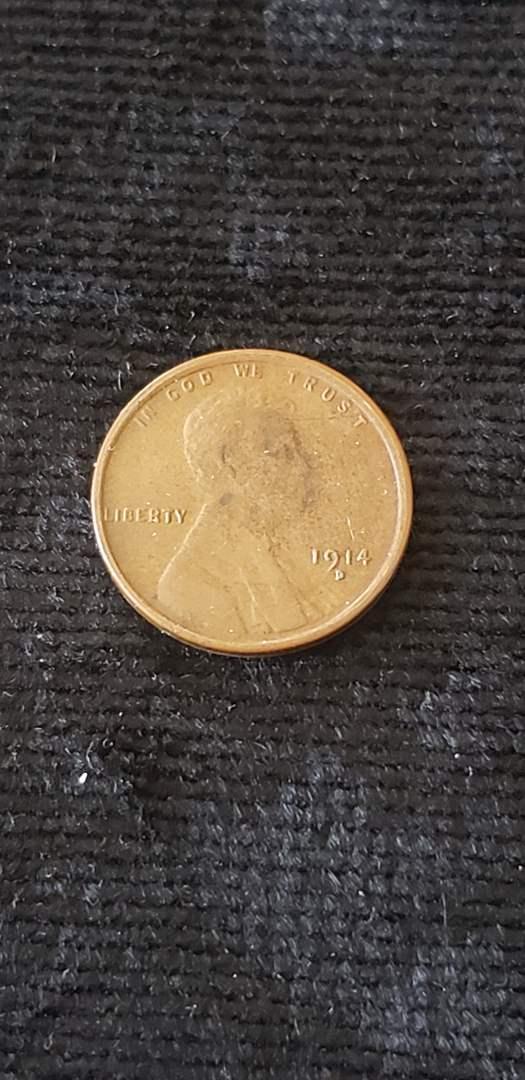 Lot # 67 1914-D Fantasy Wheat Penny