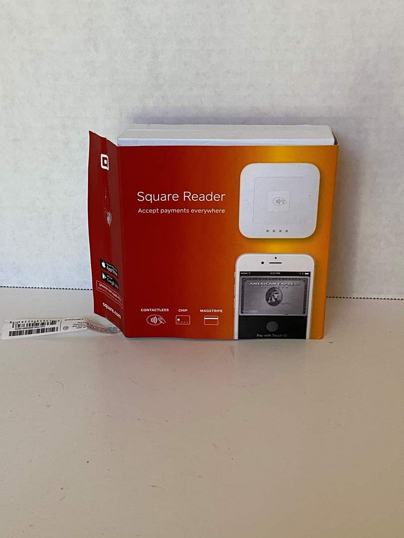Lot # 72 Square Reader