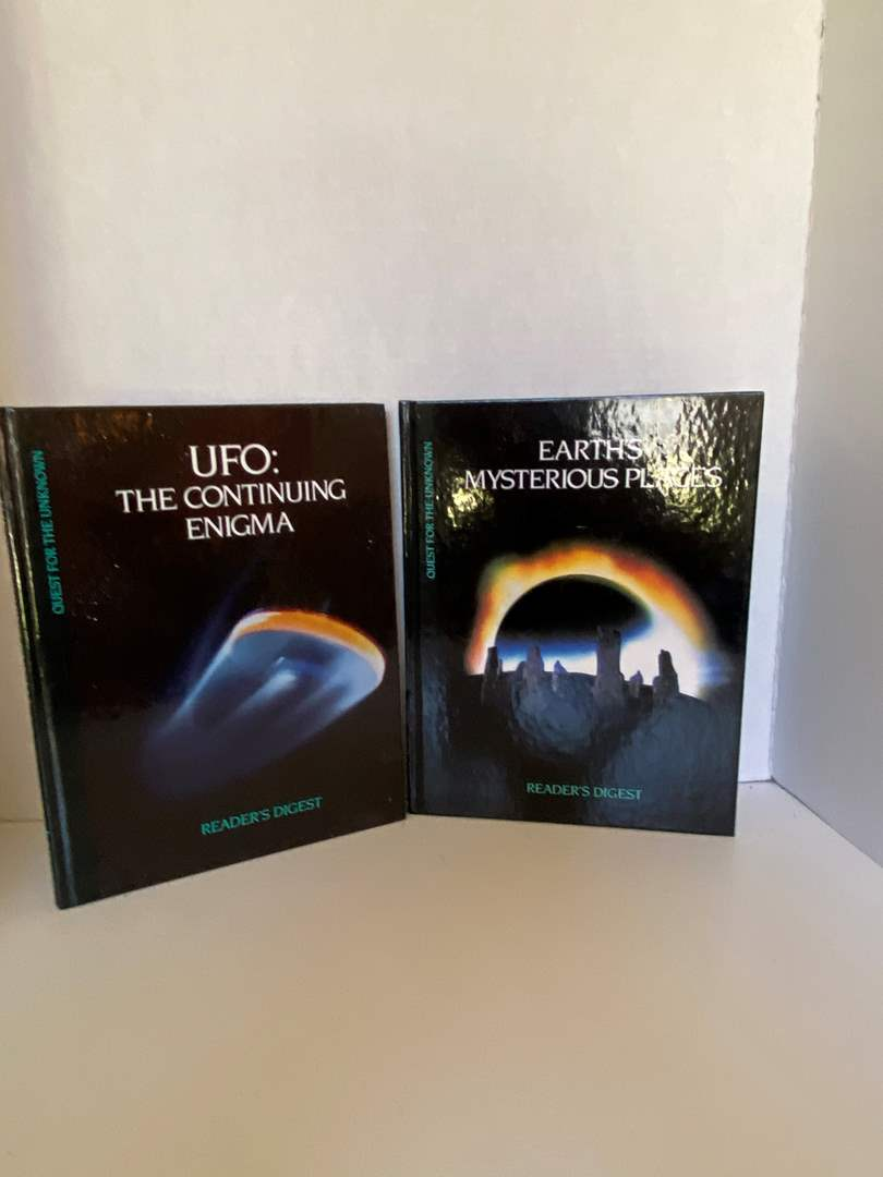Lot # 73 Reader Digest (UFO The Continuing Enigma & Earth's Mysterious Places)