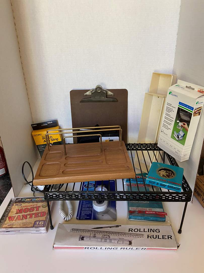 Lot # 76 Office Supplies & Misc Items