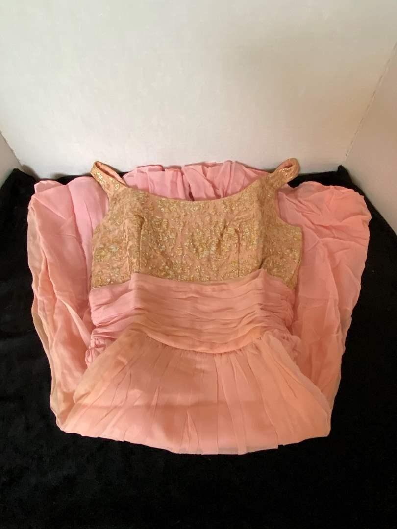 Lot # 95 Beautiful Jr. Theme Pink Dress