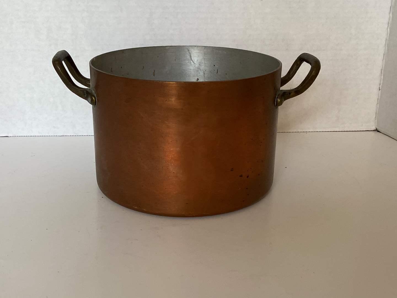Lot # 125 Large Copper Pot