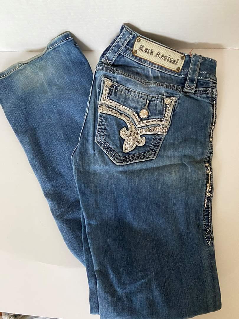 Lot # 138 Rock Revival Jeans Sz 27