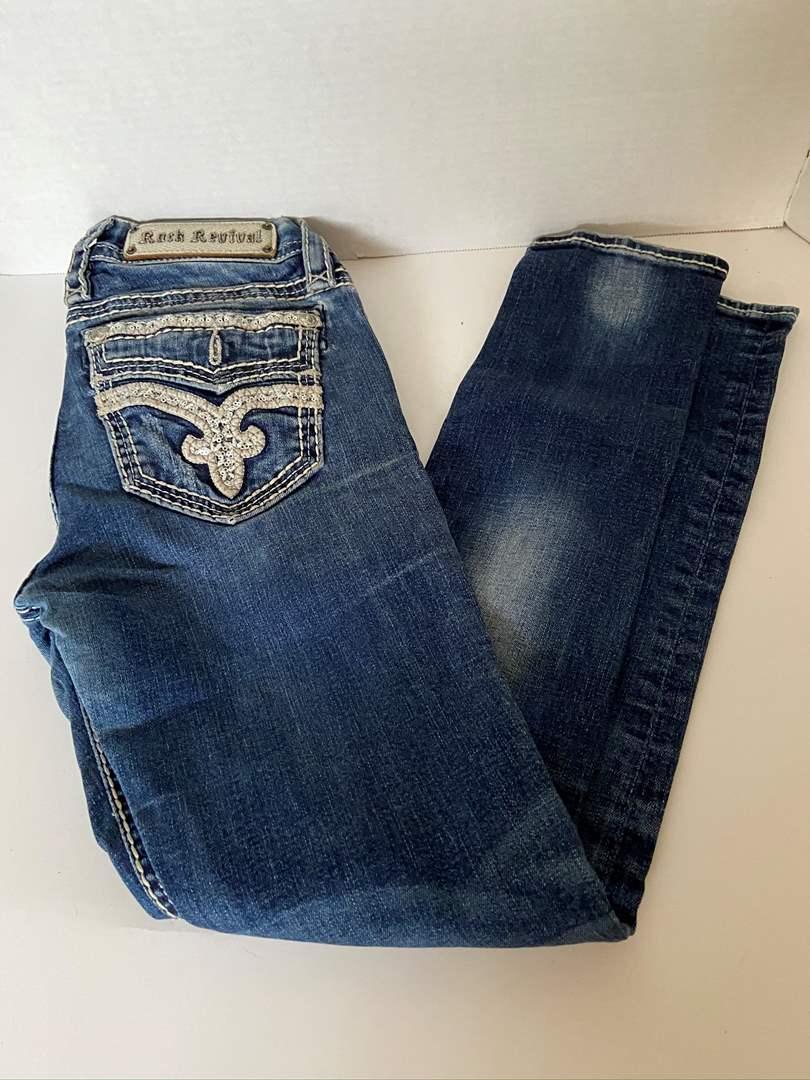 Lot # 141 Rock Revival Jeans sz 27